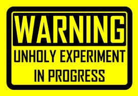 unholyexperiment